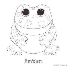 Smitten Beanie Boo Coloring Pages to Print 6tcf