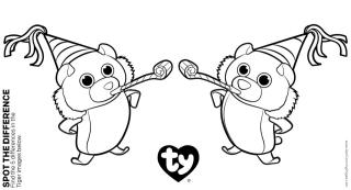 Ty Beanie Boo Coloring Pages Online 2qwn