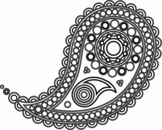 Adult Coloring Pages Paisley Printable 6ppt