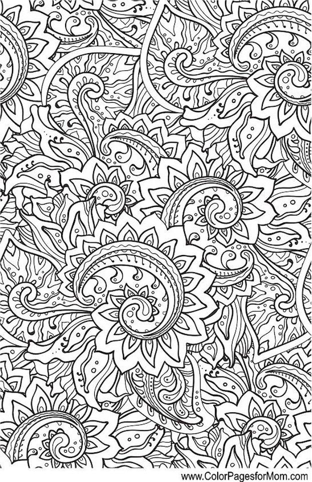 Adult Coloring Pages Paisley to Print 0clp