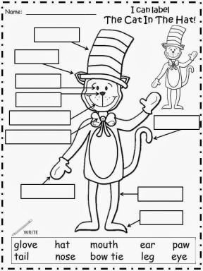 Cat In The Hat Coloring Pages to Print 8kil