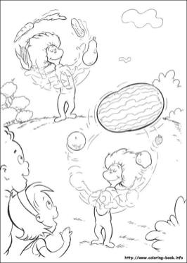 Dr. Seuss Cat In The Hat Coloring Pages 1iuh
