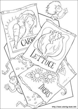Dr. Seuss Cat In The Hat Coloring Pages 3gfc
