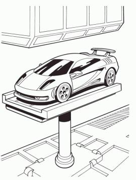 Hot Wheels Coloring Pages Free for Kids 0crw