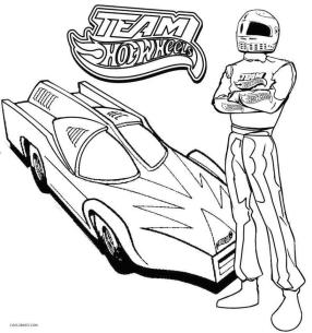 Hot Wheels Coloring Pages Free for Kids 1faf