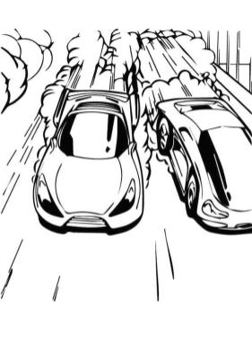 Hot Wheels Coloring Pages Printable 1rvl