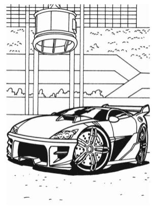Hot Wheels Coloring Pages Printable 7bzn