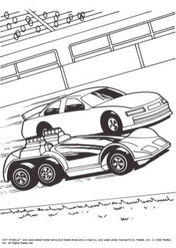 Hot Wheels Coloring Pages Race Car to Print 5sbs