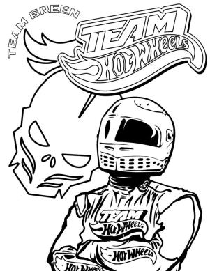 Hot Wheels Coloring Pages Race Car to Print 7hlm