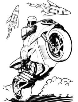 Hot Wheels Coloring Pages Race Car to Print 9mtr