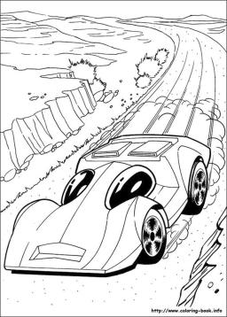 Hot Wheels Coloring Pages for Kids 0clo
