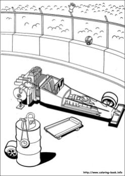 Hot Wheels Coloring Pages for Kids 9fxi