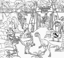 Jurassic World Coloring Pages Free to Print 4ftp