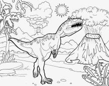 Jurassic World Coloring Pages Volcano 9vlc