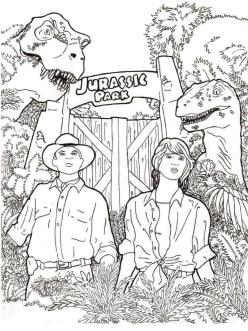 Realistic Jurassic World Coloring Pages 6rel
