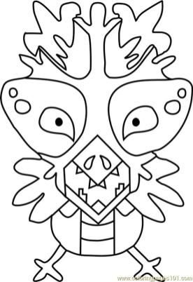 Snowdrake Undertale Coloring Pages for Kids snw4