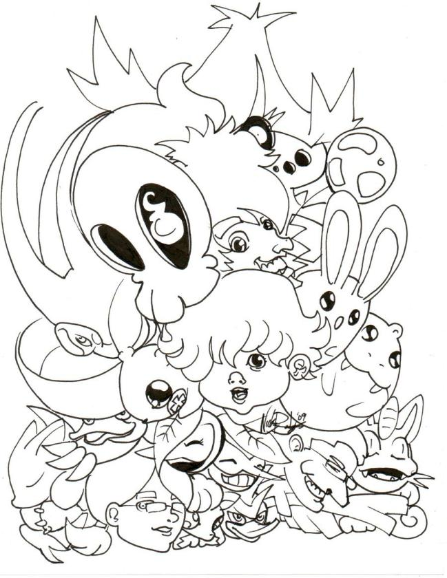 Undertale Coloring Pages Printable czx9