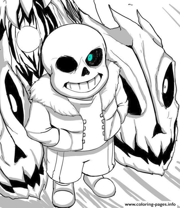 Undertale Coloring Pages Printable wad6
