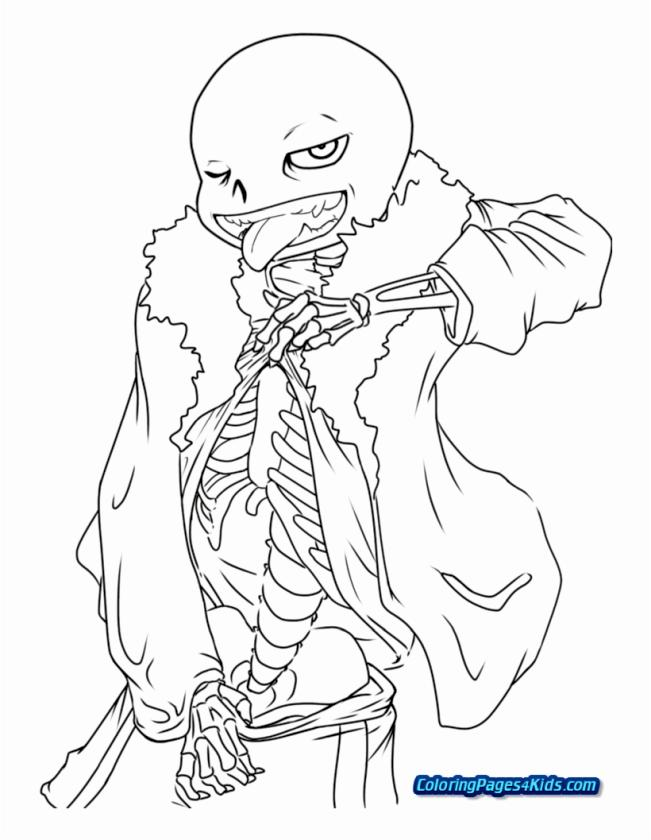 Undertale Coloring Pages for Kids col6