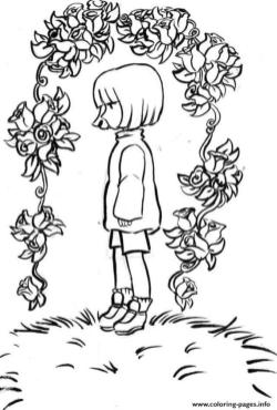 Undertale Coloring Pages to Print grl0