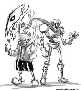 Undertale Coloring Pages to Print ukl6