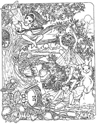 Adult Fantasy Coloring Pages 7fut