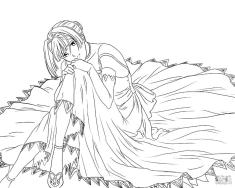 Anime Coloring Pages for Girls Alice L Malvin