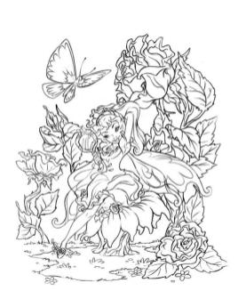 Free Fairy for Adults Coloring Pages 0gh2