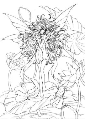 Free Fairy for Adults Coloring Pages 6vb3