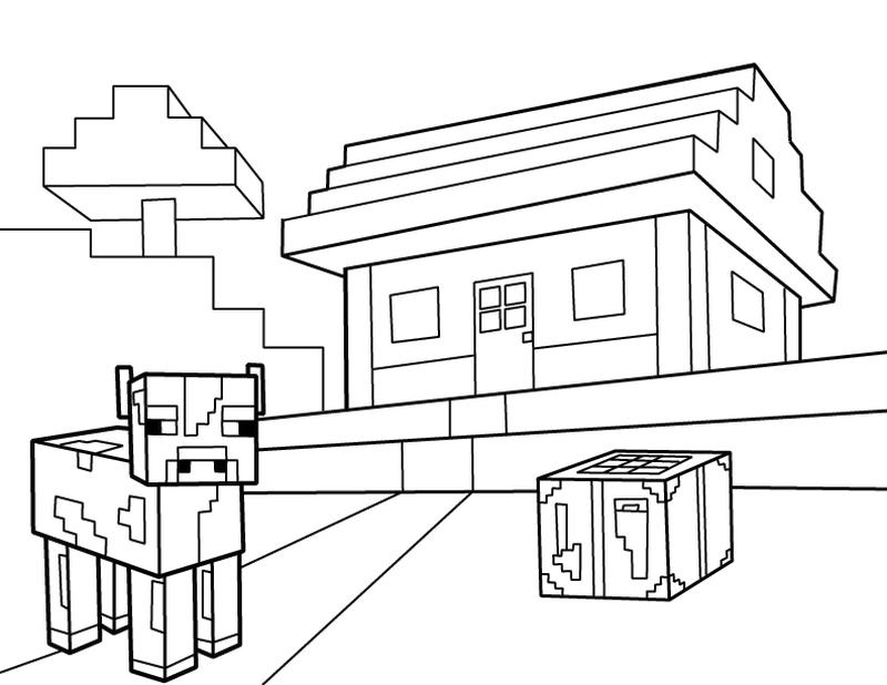 Minecraft Coloring Pages Free Printable 1gto