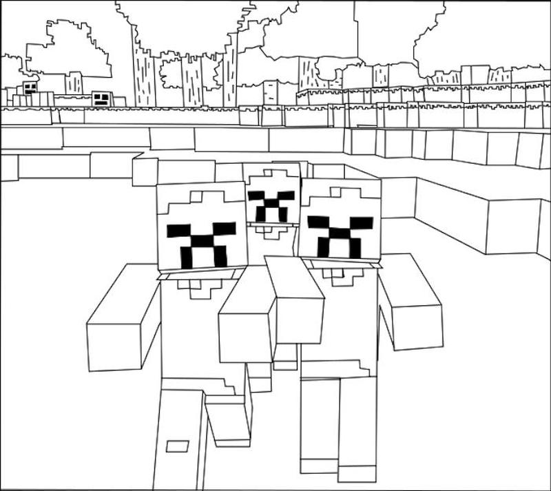 Minecraft Coloring Pages Free Printable 9gzb
