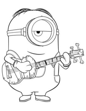 Minion Coloring Pages Printable 7fcd