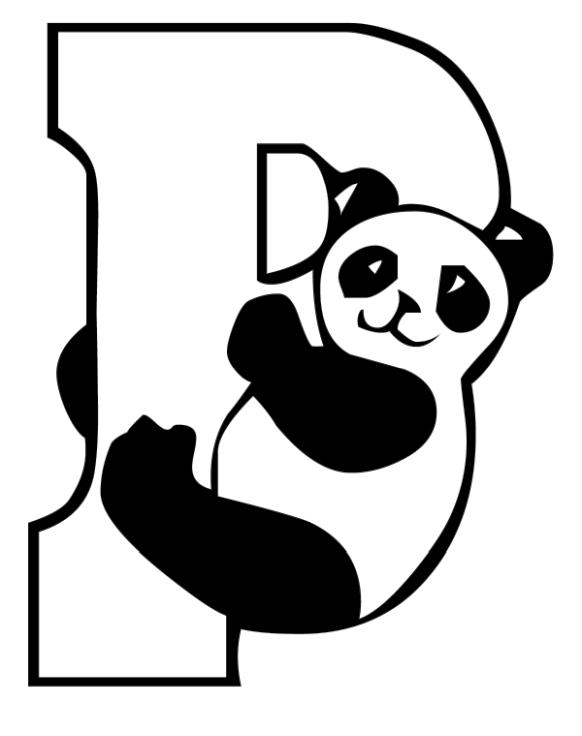 Panda Coloring Pages Printable for Kids
