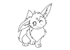 Pokemon Eevee Coloring Pages to Print 6tr7
