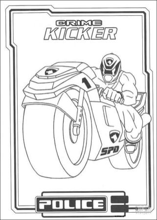 Power Rangers Coloring Pages 2ckp