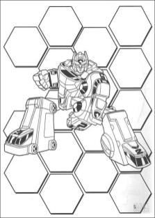 Power Rangers Coloring Pages 4trf