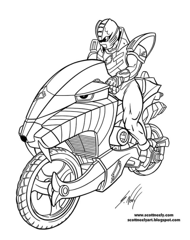Power Rangers Coloring Pages Free 0oyb