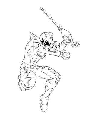 Power Rangers Coloring Pages Free 1wma