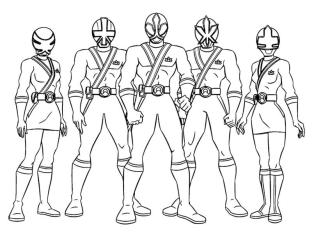 Power Rangers Coloring Pages Free 6asm