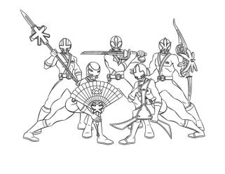 Power Rangers Coloring Pages Free 8tfi