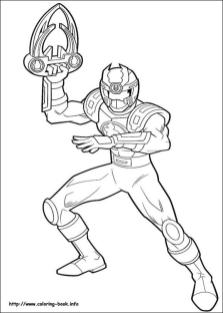 Power Rangers Coloring Pages Online