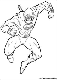 Power Rangers Ninja Coloring Pages Printable