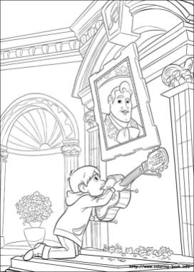 Disney Coco Coloring Pages Free Coco asking help from Ernesto
