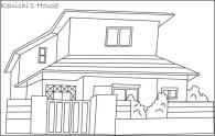 House Coloring Pages Free Modern Japanese House