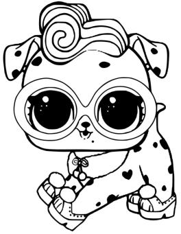 LOL Dolls Coloring Pages for Girls dlm0