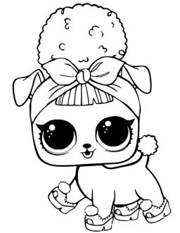 LOL Dolls Coloring Pages for Girls pyp5