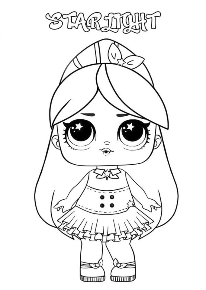 20+ Free Printable LOL Dolls Coloring Pages - EverFreeColoring.com