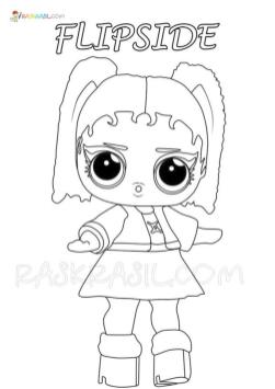 Lol Dolls Coloring Pages Printable Zodiac Flipside
