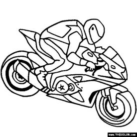 Motorcycle Coloring Pages Awesome Printable