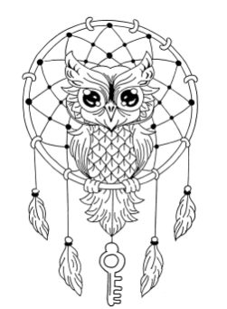 Owl Adult Coloring Pages 6dc7